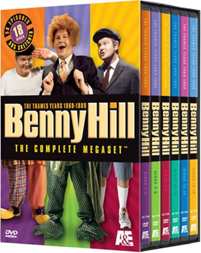 Benny Hill: The Complete Megaset: The Thames Years 1969-1989 (DVD)