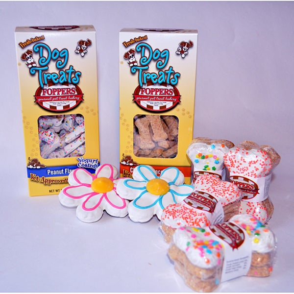 Foppers Gourmet 'Spring has Sprung' Gourmet Dog Treat Gift Set (158-pieces)