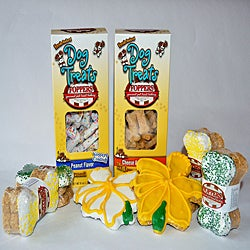 Foppers 'Daffodils in Bloom' Gourmet Dog Treat Gift Set (158-pieces)