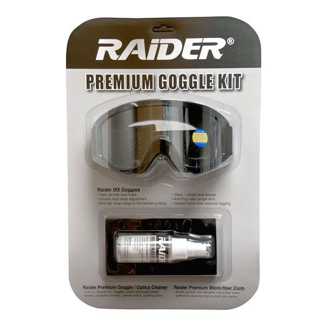 Raider Premium Goggle Kit