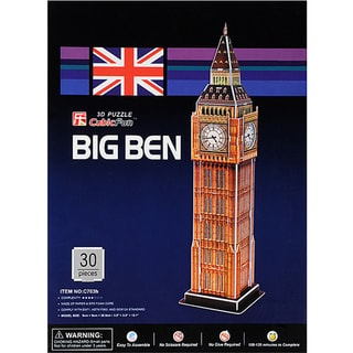 London Big Ben 3D Puzzle