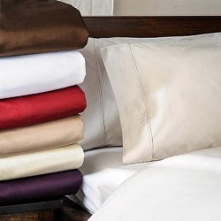 Luxor Treasures Solid Marrow Stitch 1500 Thread Count All Cotton Sheet Set