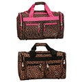 Rockland 'Bel-Air' Leopard 19-inch Carry-On Duffel Bag