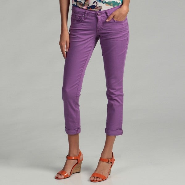 Jessica Simpson Junior's 'Forever' Cropped Colored Jeans