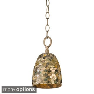 Naturals Sustainable Black Mother of Pearl Shell Mini Pendant