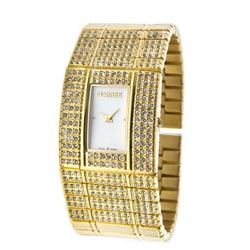 Haurex Women's Italy Natural Crystals Watch