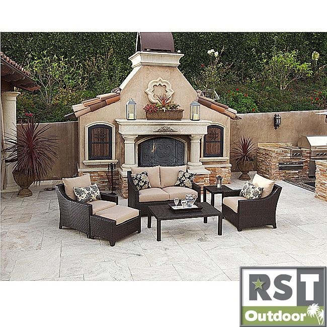 RST Delano 6 piece Deep Seating Patio Furniture Set