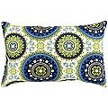 19x12-inch Rectangular Outdoor Summer Accent Pillows (Set of 2)