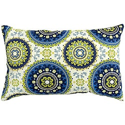 Solstice Summer Rectangle Outdoor Accent Pillows (Set of 2)