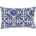 Sapphire Indigo Rectangle Outdoor Accent Pillows (Set of 2)