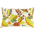 Fireworks Floral Rectangle Outdoor Accent Pillows (Set of 2)