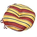 Mayan Stripe18-inch Round Outdoor Bistro Chair Cushion (Set of 2)