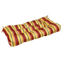 Mayan Stripe 42-inch Outdoor Sette Cushion