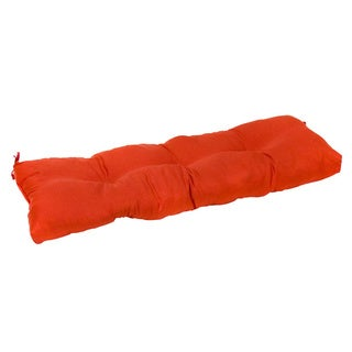 Red 51-inch Outdoor Bench Cushion