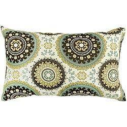Rectangle Outdoor Splash Spray Accent Pillows (Set of 2)
