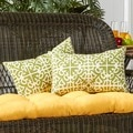 19x12-inch Rectangular Outdoor Grass Accent Pillows (Set of 2)