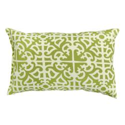 Fern Grass Rectangle Outdoor Accent Pillows (Set of 2)