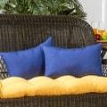 19x12-inch Rectangular Outdoor Marine Blue Accent Pillows (Set of 2)