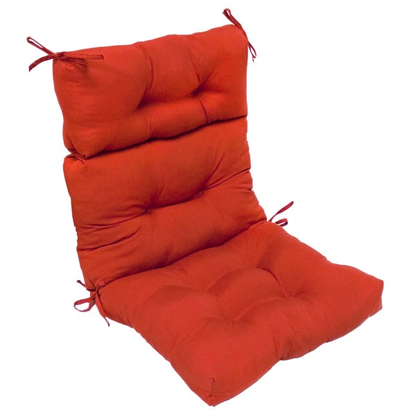 44x22 in Outdoor Salssa High Back Chair Cushion Patio