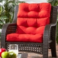 Outdoor 'Red' High Back Chair Cushion