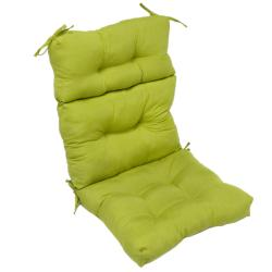 44x22-inch 3-section Outdoor Kiwi High Back Chair Cushion
