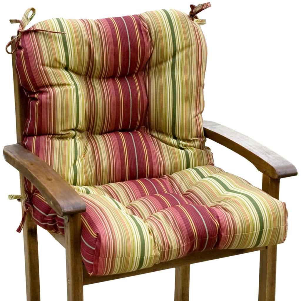 Outdoor 'Persian Stripe' Seat/ Back Combo Cushion at Sears.com