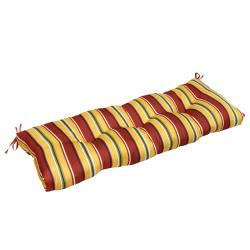 Outdoor 'Mayan Stripe' 44-inch Swing/ Bench Cushion