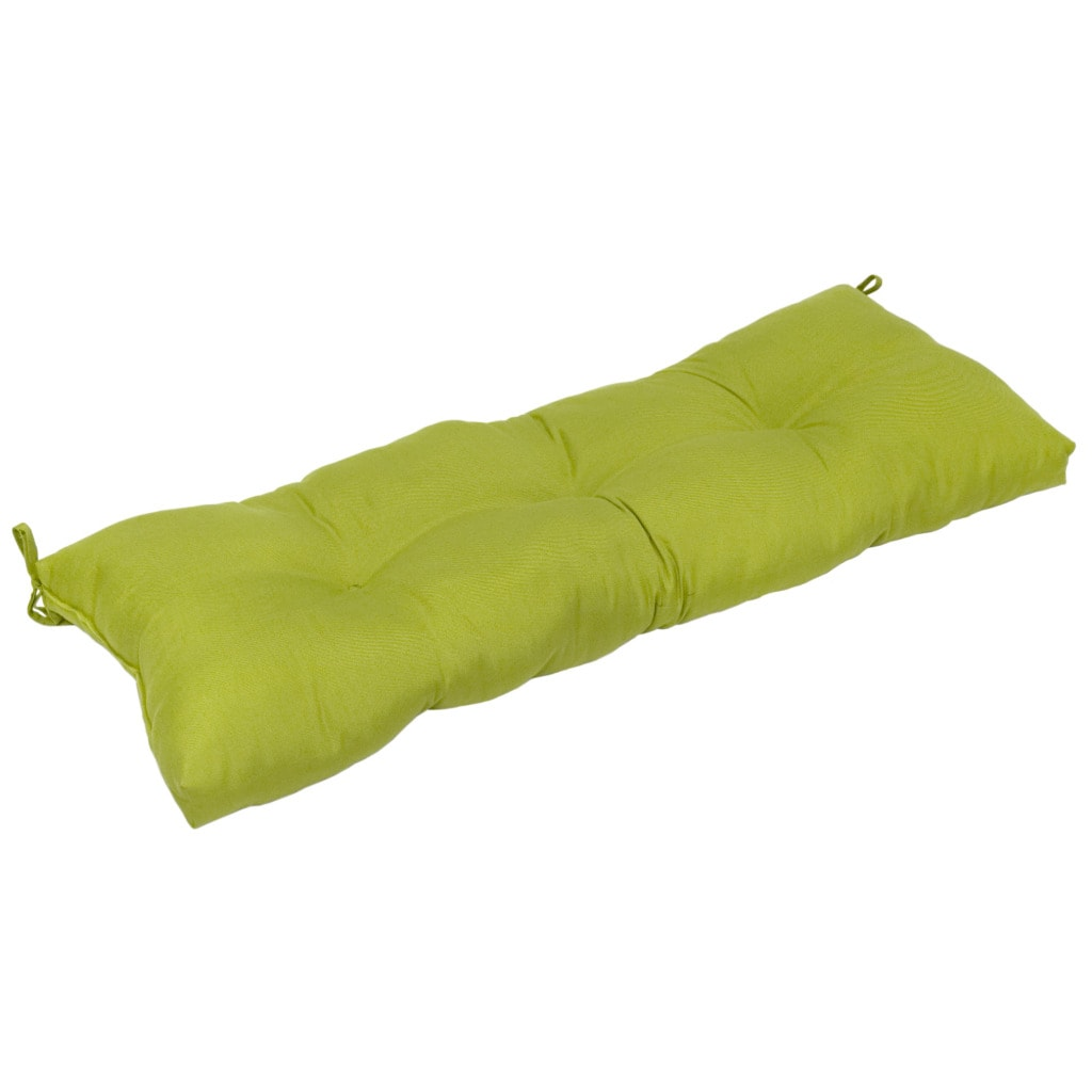 44 in Outdoor Kiwi Swing Bench Cushion Patio Furniture