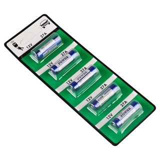 BasAcc 27A Alkaline Battery (Pack of 5)