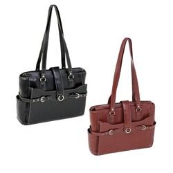 McKlein Women's Isabella 15.4-inch Leather Laptop Briefcase