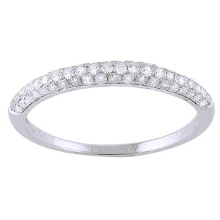 Beverly Hills Charm 10k White Gold 1/3ct TDW Diamond Ring