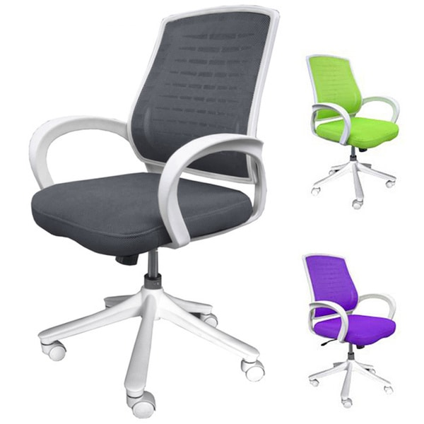 Comfort Products 60-5184 Iona Mesh Adjustable Rolling Office Chair 8915256