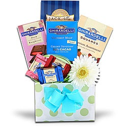 Alder Creek Gift Baskets Ghirardelli Spring Gift Box