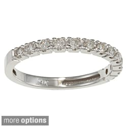 Auriya 14k Gold 5/8ct TDW Diamond Wedding Band (H-I, I1-I2)