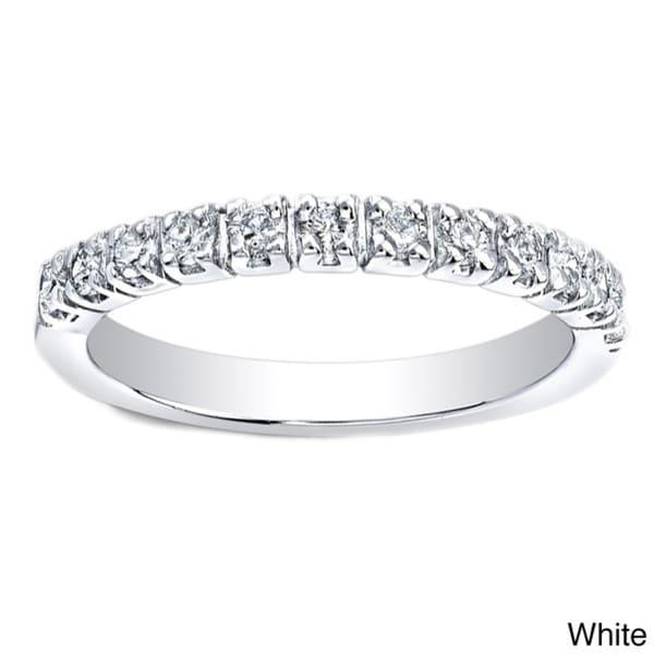 Auriya 14k Gold 5/8ct TDW Diamond Wedding Band (H-I, I1-I2)