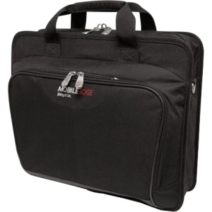 "Mobile Edge Quick Carrying Case (Briefcase) for 17"" Notebook - Black"
