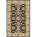 Indoor/ Outdoor South Beach Agra Olive Green Rug (5' x 8')