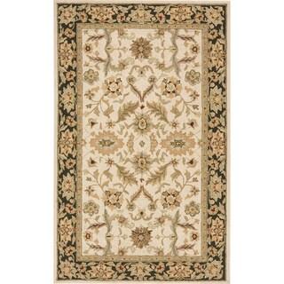 South Beach Indoor/Outdoor Ivory Persian Rug (5' x 8')