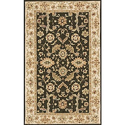South Beach Indoor/Outdoor Olive Green Persian Rug (5' x 8')