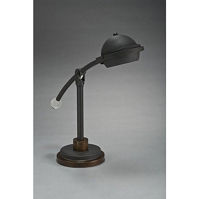 Aztec Lighting Transitional 1-light Table/Desk Lamp in Bronze