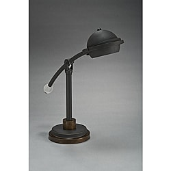 Aztec Lighting Transitional 1-light Table/Desk Lamp in Bronze