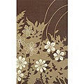 South Beach Indoor/Outdoor Brown Spring Rug (5' x 8')