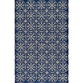 South Beach Indoor/Outdoor Blue Celebration Rug (3'9 x 5'9)