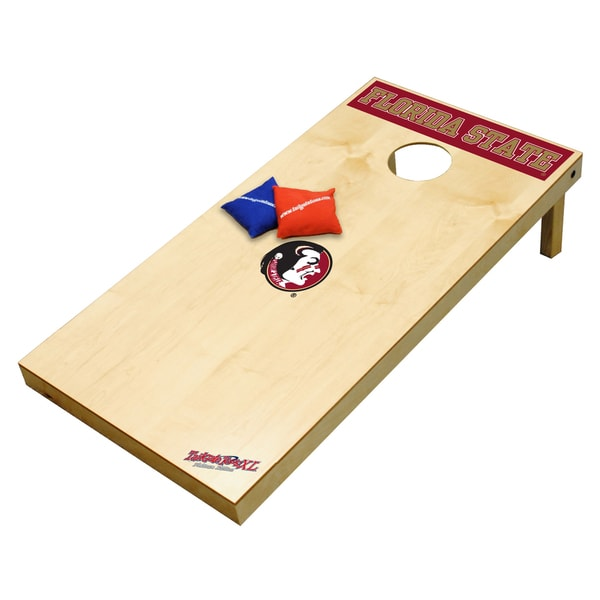 Miami Florida Hurricanes Wood Tailgate Toss XL Platinum Edition Game
