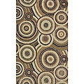 South Beach Tan Mosaic Indoor/Outdoor Rug (3'9 x 5'9)