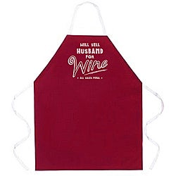 Attitude Aprons Husband for Wine Apron