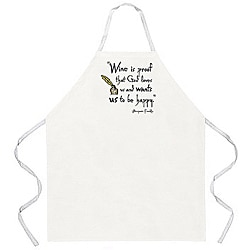 Attitude Aprons 'Wine is Proof' Apron