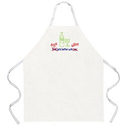 Attitude Aprons 'Age gets Better with Wine' Apron