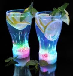 Light Up Cola Glasses (Pack of 12)