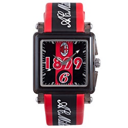 Chronotech Kids Black Leather Watch